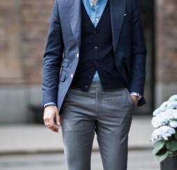 Blue & Grey
