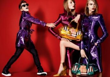 The Blaze & Metallics – The Burberry SS13 Campaign