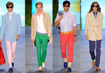 SS12: Men's Coloured Trousers