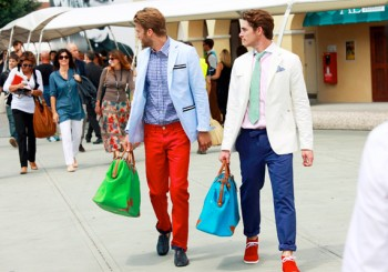 Summer Fashion: Coloured Trousers