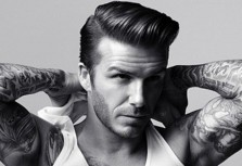 David Beckham Visits H&M Fans In Madrid