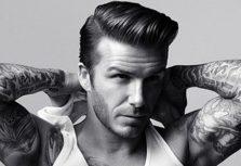 David Beckham Visits H&M Fans In Madrid