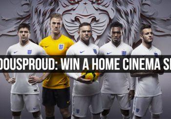 #DOUSPROUD – Win A Home Cinema Set
