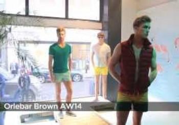 Orlebar Brown Menswear Fall/Winter 2014 London Fashion Week