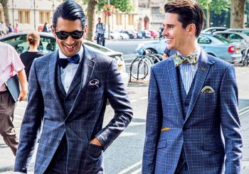 How To Wear Patterned Suits
