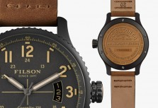 Shinola Announces First Watch Collaboration With Filson