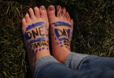 TOMS Hosts Annual One Day Without Shoes Campaign