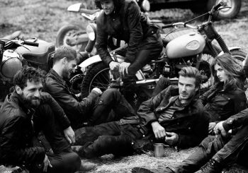 David Beckham Teams Up With Belstaff For Latest Collection