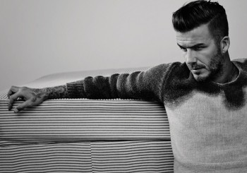 David Beckham Is Another Man Magazine's Sporting Cover