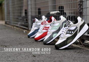 Saucony Originals Release The Shadow 6000 'Running Man' Pack