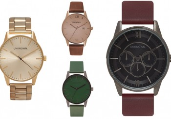 UNKNOWN launch SS15 watch collection