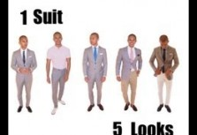 One Suit Five Looks