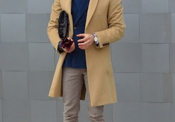 Camel, Navy and Beige