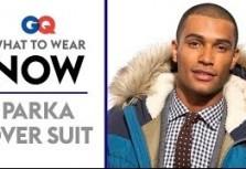 GQ Magazine: How To Wear A Parka