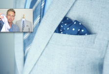 How To Easily Fold A Pocket Square