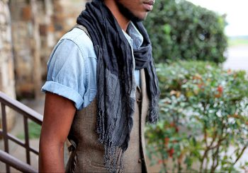 Mens Fashion Trend: Summer Scarves