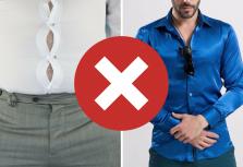 12 Things Men Should NEVER Wear