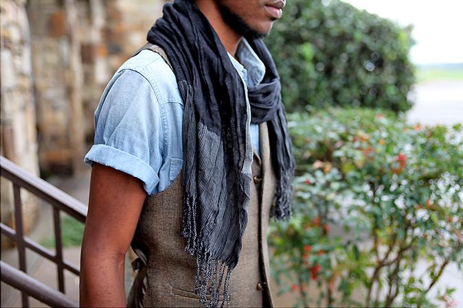 Mens Fashion Trend: Summer Scarves   Mens Fashion Magazine