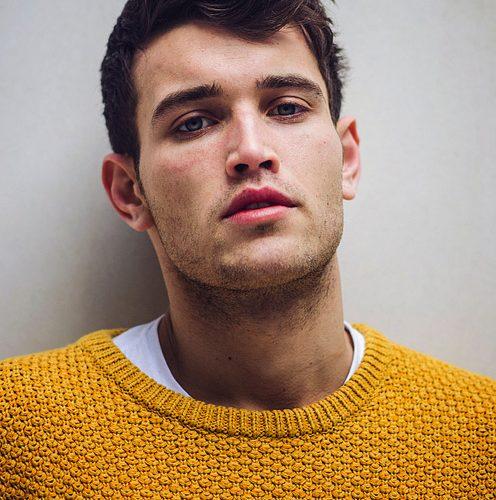 mustard knit