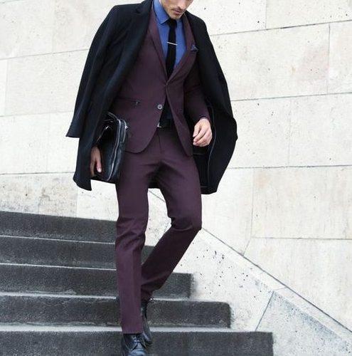 maroon formal