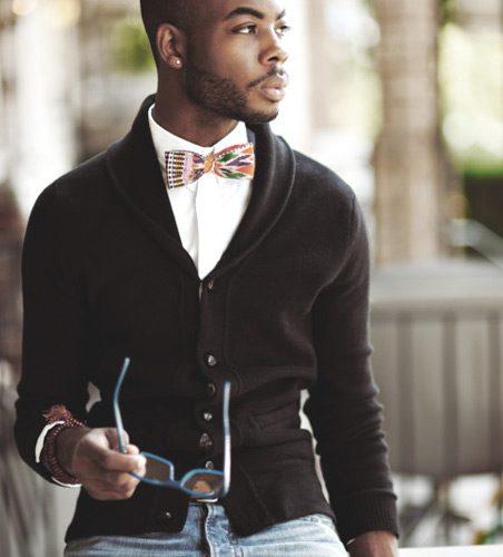 bow ties & knitwear