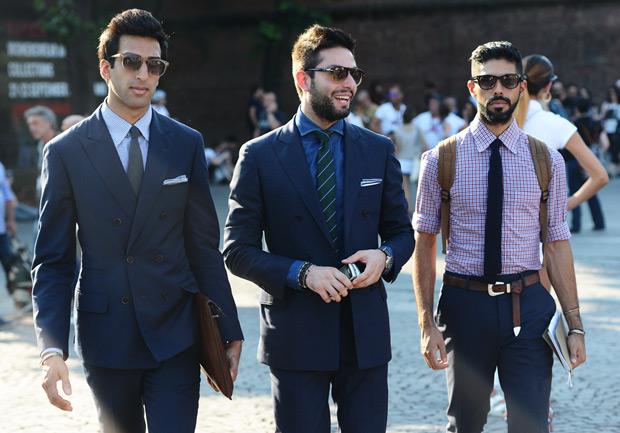 three suits