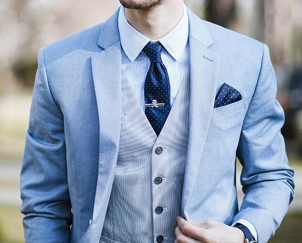walk with suit