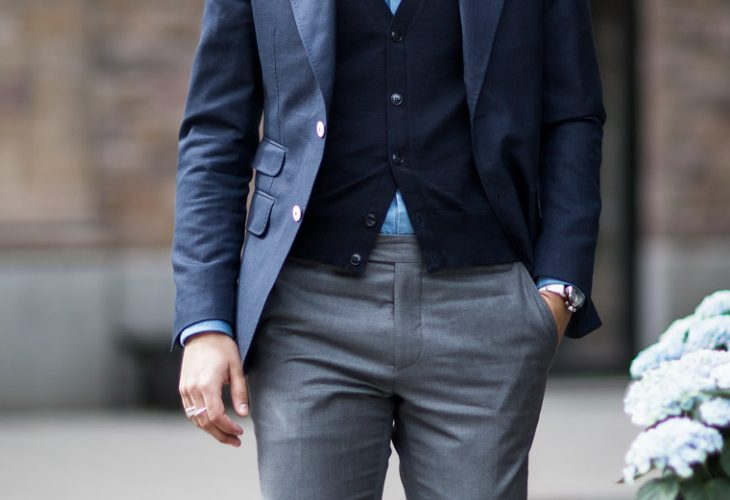 blue with grey