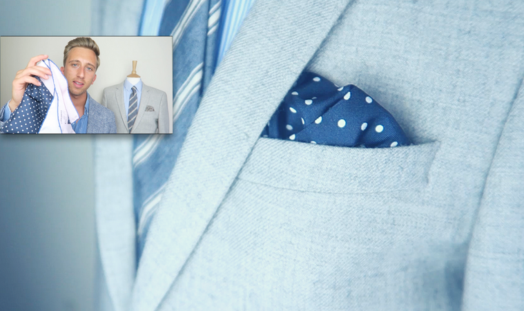 how to fold pocket square