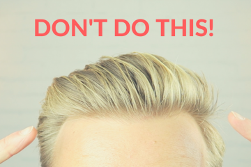mens hairstyle mistakes